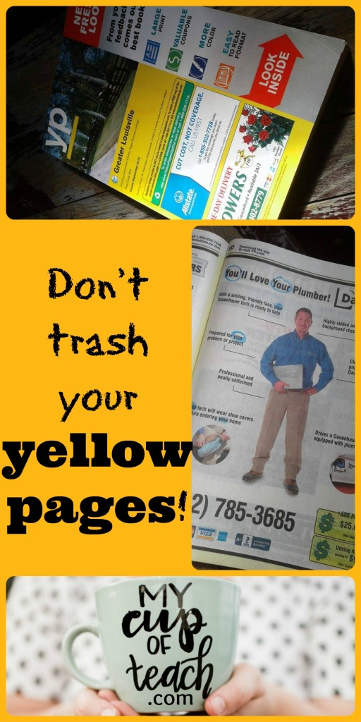 donttrashyouryellowpages